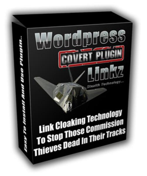 Product picture Wordpress Covert Plugin Linkz