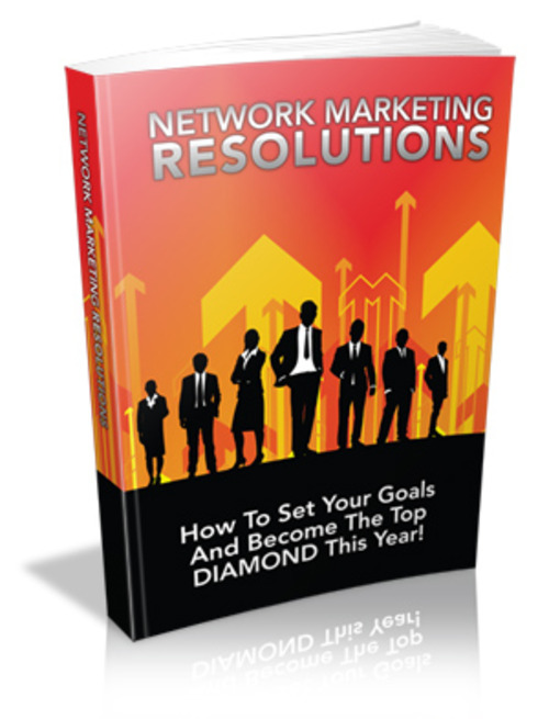 Product picture Network Marketing Resolutions - Viral eBook