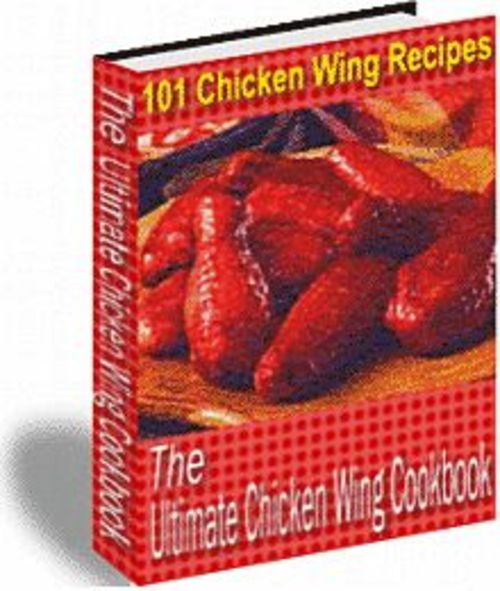 Product picture Ultimate Chicken Wing Cookbook